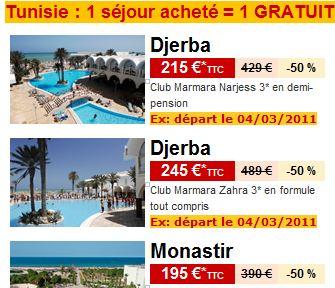 Des vacances pour pas cher en Tunisie | doit-on remercier MaM ?