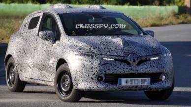 La nouvelle Renault Clio photo volés dévoilées sous préservatif