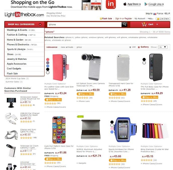 Comment trouver des gadgets pas chers pour l'iphone