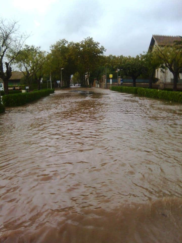 Marseillan orage et pluie battante
