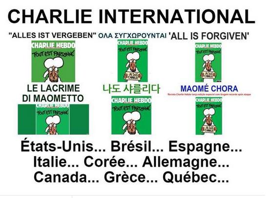 Charlie Hebdo dévalisé en Rupture à Marseillan et partout