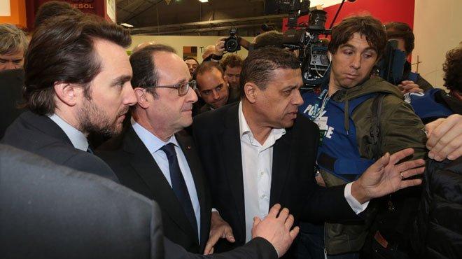 Hollande insulté au salon de l'agriculture
